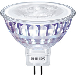 Philips Philips LED 12V MR16 Dimmable Lamp 8W 621lm - 49055 - from Toolstation