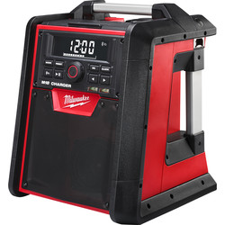 Milwaukee Milwaukee M18RC-0 18V Li-Ion Radio Charger Body Only - 49165 - from Toolstation