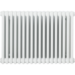 Arlberg Arlberg 2 Column Horizontal Radiator 600 x 854mm 2790Btu White - 49256 - from Toolstation
