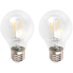 Meridian Lighting LED Filament GLS Lamp 6W ES (E27) 780lm - 49320 - from Toolstation