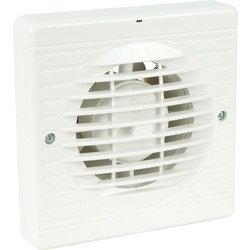airvent 150mm Part L Extractor Fan Humidistat - 49322 - from Toolstation