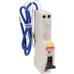 Contactum Contactum RCBO 6A 30mA Type B - 49355 - from Toolstation