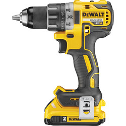 DeWalt DeWalt DCD791D2-GB 18V XR Brushless Compact Drill Driver 2 x 2.0Ah - 49517 - from Toolstation