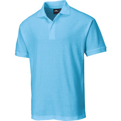 Portwest Womens Polo Shirt Medium Sky Blue - 49530 - from Toolstation