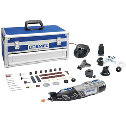 Dremel Dremel 8220-5 65 Piece 12v Multi-Tool Platinum Kit 1 x 2.0Ah - 49637 - from Toolstation