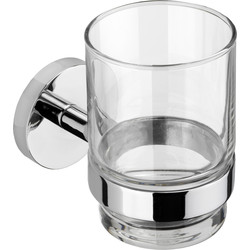 Croydex Croydex Pendle Flexi-Fix Tumbler Polished Chrome - 49650 - from Toolstation
