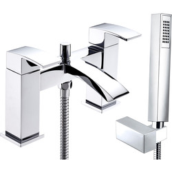 Deva Deva Swoop Deck Mounted Bath Shower Mixer Tap  - 49689 - from Toolstation