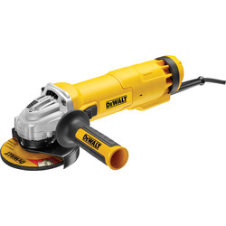 DeWalt DeWalt DWE4206K 1010W 115mm Angle Grinder 110V - 49830 - from Toolstation