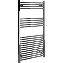 Kudox Kudox Chrome Flat Ladder Towel Radiator 1200 x 600mm 1348Btu - 49853 - from Toolstation