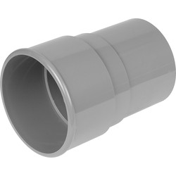 Aquaflow 68mm Pipe Socket Grey - 49864 - from Toolstation