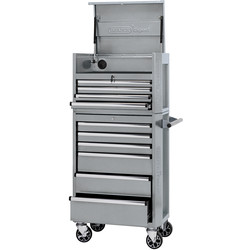 "Draper Draper Combined Roller Cabinet and Tool Chest 26"" 10 drawer - 49899 - from Toolstation"