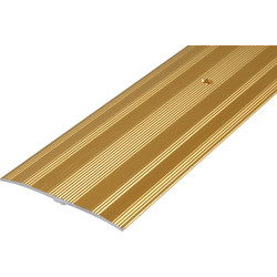 Wide Carpet Plate Gold - 49955 - from Toolstation