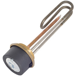 "Long Life Incoloy Immersion Heater & Resettable Thermostat 11"" - 49984 - from Toolstation"