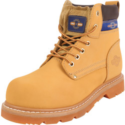 ProMan ProMan Nubuck Safety Boots Size 8 - 50013 - from Toolstation