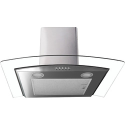 Culina 60cm Curved Extractor Hood Stainless Steel