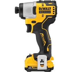DeWalt DeWalt DCF801D2-GB 12V XR Brushless Compact Impact Driver 2 x 2.0Ah - 50151 - from Toolstation