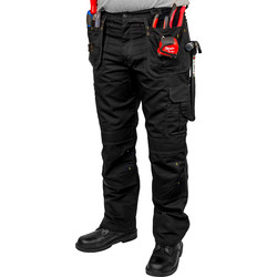 "Stanley Workwear Stanley Jersey Holster Pocket Trousers 34"" R - 50240 - from Toolstation"