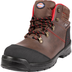Dickies Dickies Cameron Waterproof Safety Boots Brown Size 8 - 50274 - from Toolstation
