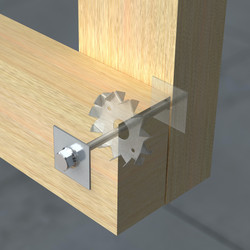 Double Sided Timber Connector
