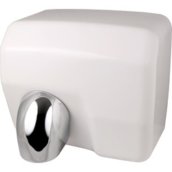Automatic Hand Dryer White 2500W - 50347 - from Toolstation