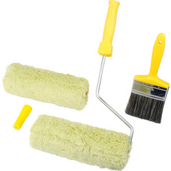 Prodec Twin Head Masonry Paint & Roller Set
