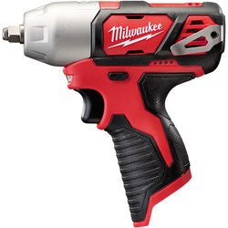 "Milwaukee Milwaukee M12BIW38-0 12V Li-Ion Cordless Compact Impact Wrench 3/8"" Body Only - 50505 - from Toolstation"