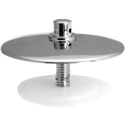 Bath Overflow Stopper CP - 50737 - from Toolstation