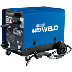 Draper Draper 160A Gas/Gasless Turbo MIG Welder 230V - 50916 - from Toolstation