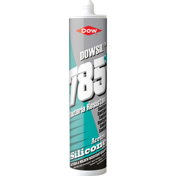 Dow Dowsil DC785+ Sanitary Sealant 310ml White - 50988 - from Toolstation