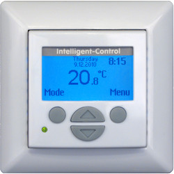 Underfloor Intelligent Control Digital Clock Thermostat With Sensor
