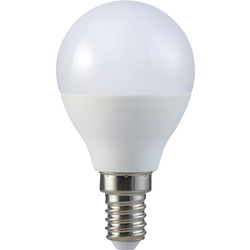 V-TAC V-TAC Smart LED Ball Bulb 4.5W SES RGB+W 300lm - 51115 - from Toolstation