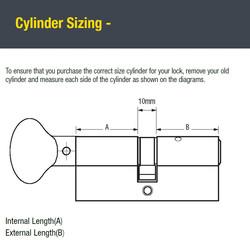Yale 6 Pin Euro Thumbturn Cylinder