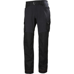 "Helly Hansen Helly Hansen Chelsea Evolution Service Trousers 34"" R Black - 51126 - from Toolstation"