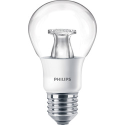 Philips Philips LED Warm Glow Dimmable A Shape Lamp 6W ES (E27) 470lm - 51211 - from Toolstation