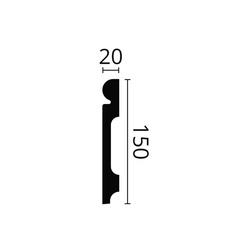 Polymer Ogee Skirting