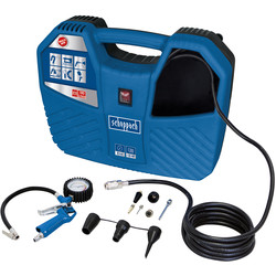 Scheppach Scheppach Air Force 2 1100W 1.5hp 180L/Min Oil Free Portable Air Compressor 240V - 51245 - from Toolstation