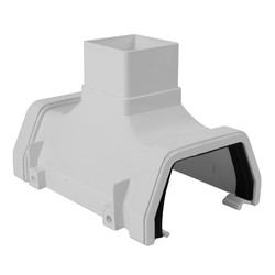 114mm Square Line Running Outlet