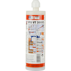 Fischer Fischer FIS VT380C - Vinylester Styrene Free Resin 380ml - 51353 - from Toolstation