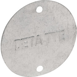 Deta Deta Metal Box Lid Light GV 20/25mm - 51359 - from Toolstation