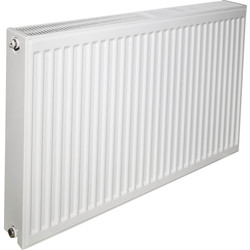 Made4Trade by Kudox Made4Trade by Kudox Type 22 Steel Panel Radiator 600 x 500mm 3003Btu - 51431 - from Toolstation