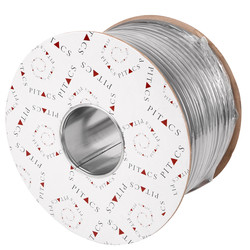 Pitacs Pitacs Twin & Earth Cable (6242Y) Grey 2.5mm2 x 100m Drum - 51466 - from Toolstation
