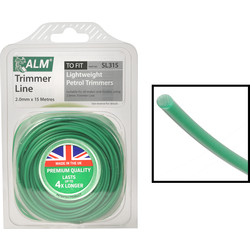 ALM ALM Universal Round Trimmer Line 15m x 2.0mm - 51509 - from Toolstation
