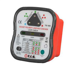 TIS Socket Tester With Loop & RCD Check