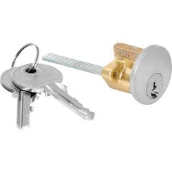 Nightlatch Cylinder Satin Stainless - 51526 - from Toolstation