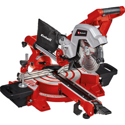 Einhell Einhell 216mm Double Bevel Sliding Mitre Saw 1800W - 51554 - from Toolstation