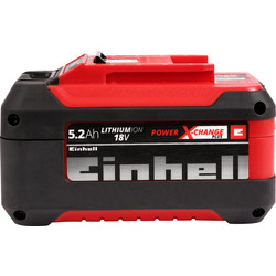 Einhell Power X-Change High Performance PXC Plus Battery 1 x 5.2Ah