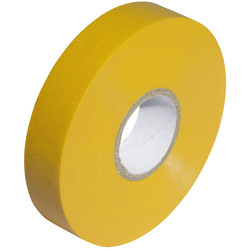 Insulation Tape Yellow 19mm x 33m - 51610 - from Toolstation