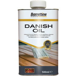 Barrettine Danish Oil 500ml - 51694 - from Toolstation
