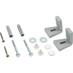 Fischer WC / Bidet Fixing Kit Side Fixing