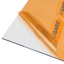 Axgard Axgard 3mm Polycarbonate Clear Impact Resisting Glazing Sheet 1000 x 2000mm - 51756 - from Toolstation